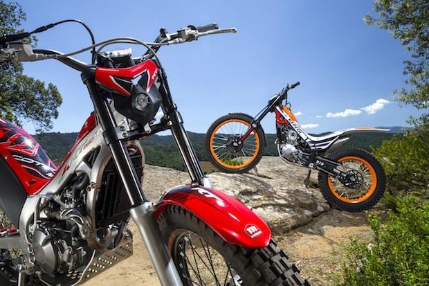 Photo of Updates für die Honda Trial Motorräder 2015
