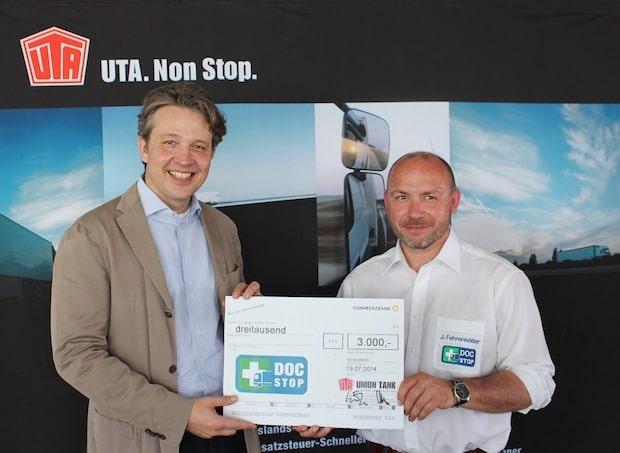 Photo of UTA unterstützt DocStop