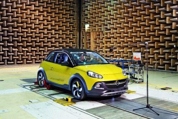 Photo of Der neue Opel ADAM ROCKS im Akustiklabor