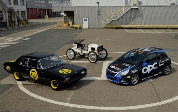 Photo of Opel zeigt Siegertypen aus 111 Jahren Motorsport