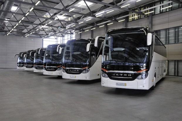 Photo of Dänische Reisebusunternehmen kaufen 10 Setra TopClass S 517 HDH