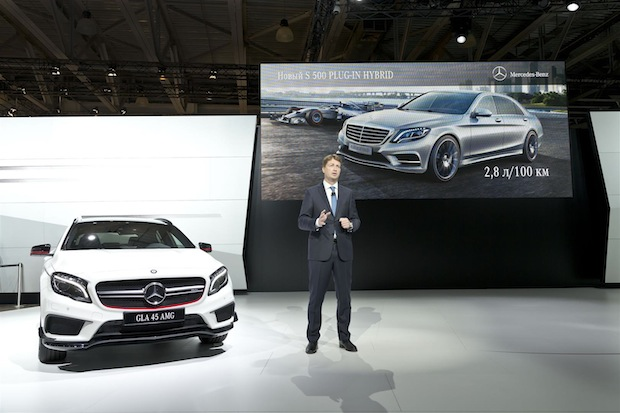 Photo of Mercedes-Benz auf Moscow International Automobile Salon 2014