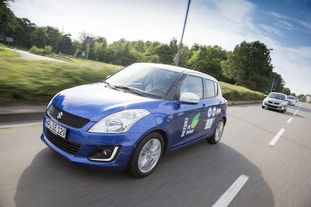 Photo of CO2-Challenge der AUTO ZEITUNG: Suzuki Swift