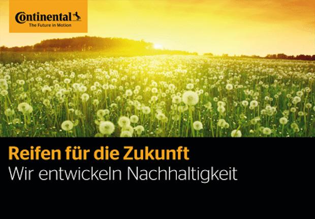 """Photo of """"Wir entwickeln Nachhaltigkeit"""": Fallstudie von Continental"""