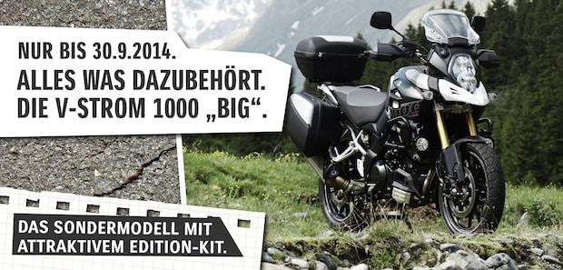 "Photo of V-Strom 1000 jetzt als ""BIG""-Edition"