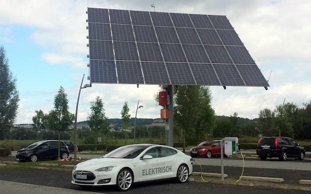 Photo of Elektroauto-Ladestation in Niestetal bei Kassel installiert