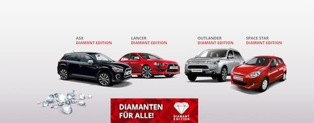 """Photo of """"Fest der Diamanten"""" bei deutschen Mitsubishi Händlern"""