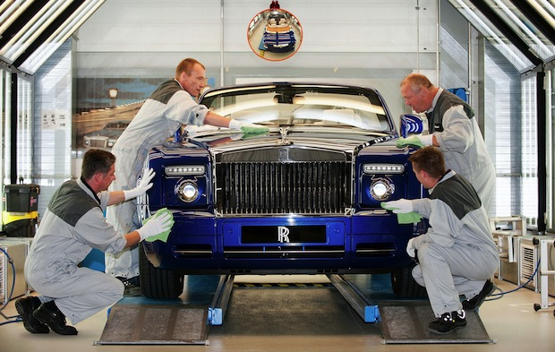 "Photo of Rolls Royce ""Made in Germany"""