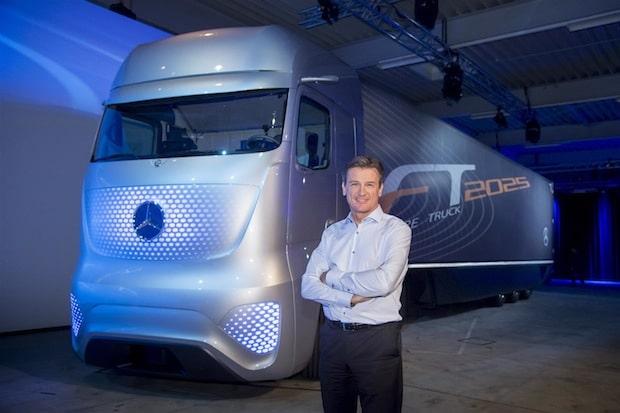 Photo of Mercedes-Benz Future Truck 2025