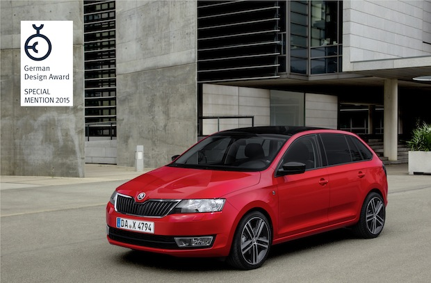 Photo of SKODA Rapid Spaceback erhält ,Special Mention'