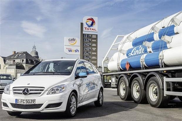 Photo of Daimler, Linde und Partner errichten Wasserstofftankstellen