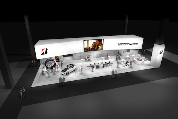 Photo of Bridgestone beim Pariser Autosalon