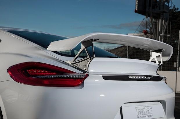 Photo of TECHART Heckspoiler II für die Porsche Cayman Modelle