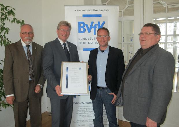 Photo of WENA-CAR Produkt GmbH erneut mit BVfK – Zertifizierung!