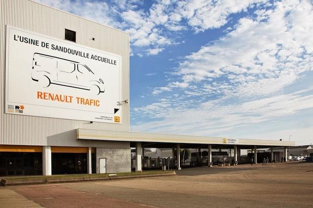Bild: Trafic, Werk Sandouville, Produktion, 2014.