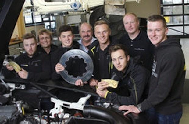 Photo of Sieger bremsen richtig!