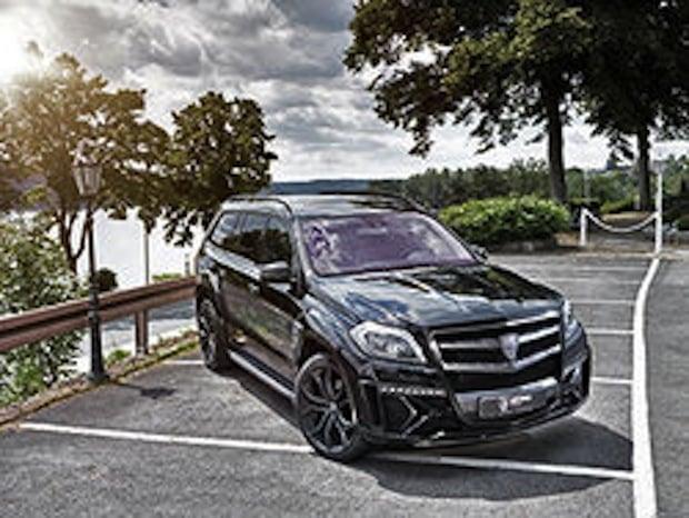 Photo of Mercedes GL geht vor Essen Motor Show auf Fototour