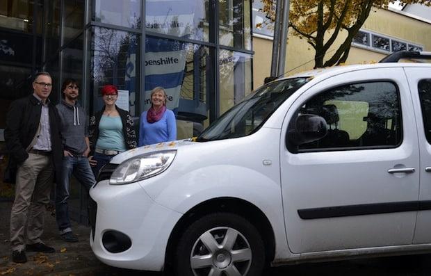 Photo of winkler spendet an Lebenshilfe in Ludwigsburg