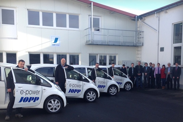 Photo of Fünf Electric Vehicle bei Automobilzulieferer Jopp Holding GmbH