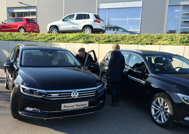 Photo of Profi-Fahrtrainings im neuen VW Passat