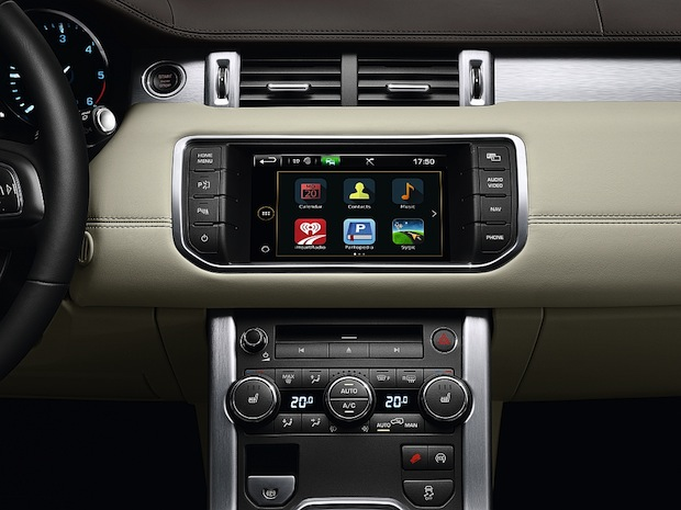 Photo of Jaguar Land Rover InControl Technology