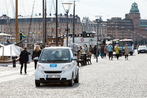 Photo of car2go startet in Stockholm