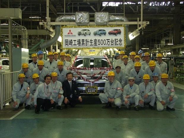 Photo of Werk Okazaki feiert fünfmillionstes Fahrzeug