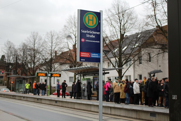Photo of Neuer Hochbahnsteig eröffnet