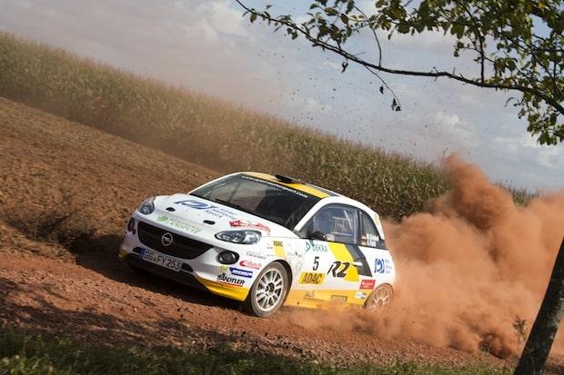 Bild:  Opel-Werkspilot Marijan Griebel gewann sechs von acht nationalen Meisterschaftsläufen und machte schon vorzeitig den Titel in der Division 5 klar, © GM Company.