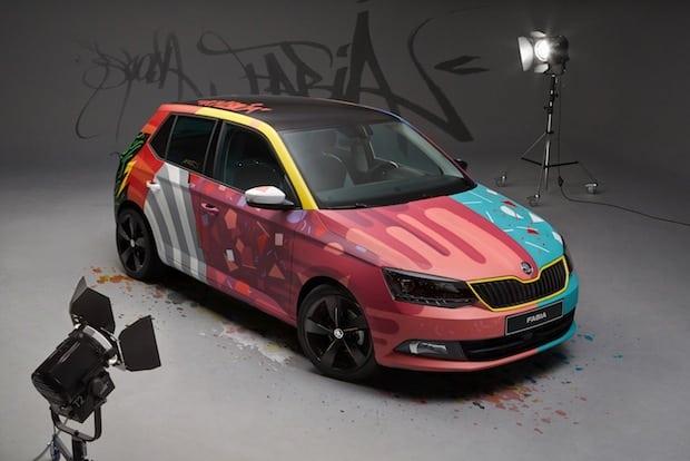 Photo of SKODA Fabia wird zum ,Art Car'