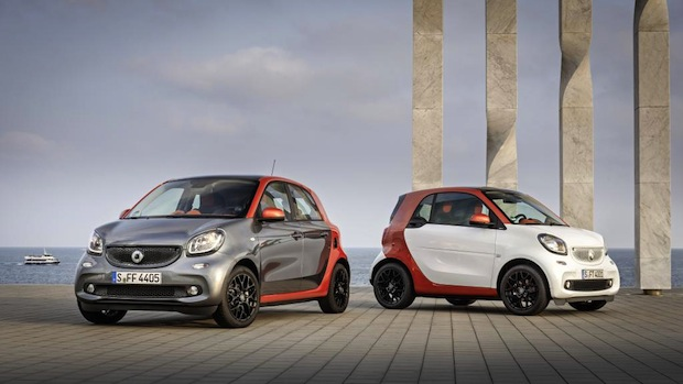Photo of Der neue smart fortwo & forfour