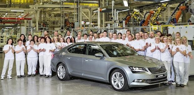 Photo of Produktionsstart für neuen SKODA Superb