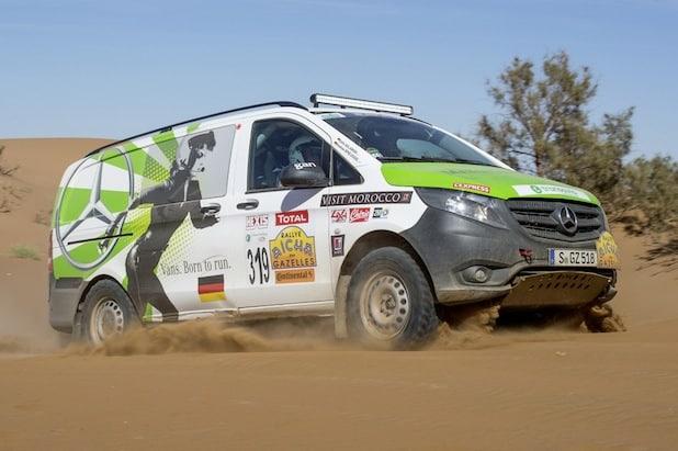 Photo of Hattrick für Mercedes-Benz Vans mit Vito und Sprinter bei der 25. Rallye Aïcha des Gazelles