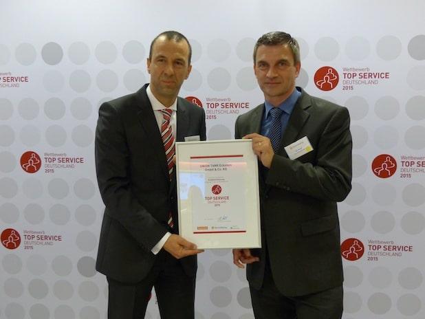 Photo of UTA für Top Service ausgezeichnet