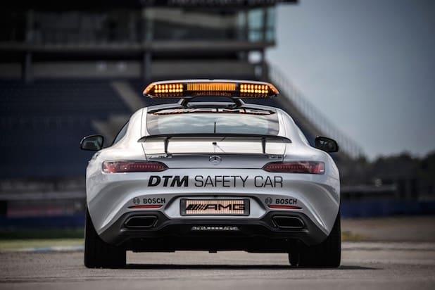 Mercedes-AMG GT S als offizielles Saftey Car der DTM 2015 Foto: Mercedes Benz