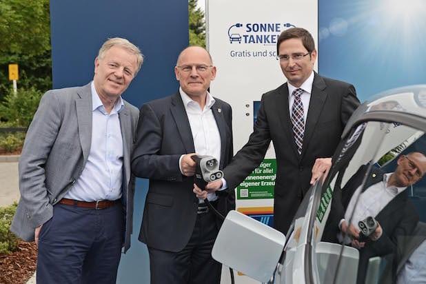"""Photo of Auch Stuttgarter können nun mit ALDI SÜD """"Sonne tanken"""""""
