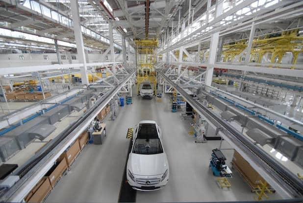 Photo of Erster Mercedes-Benz GLA läuft in Indien vom Band