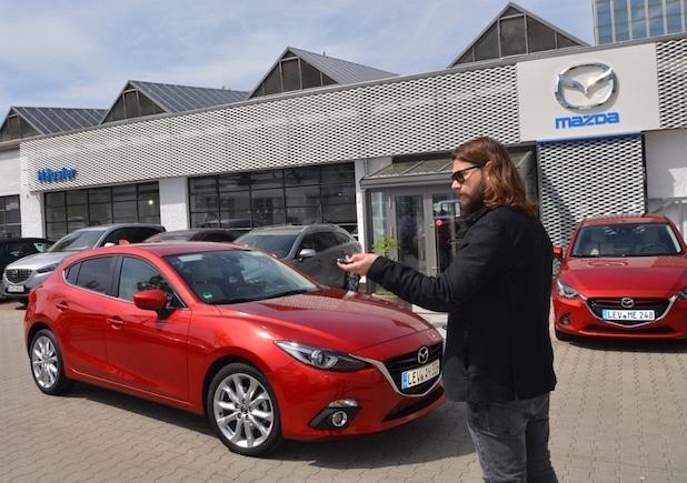 Photo of Exklusive Momente mit Mazda,Rea Garvey und Samu Haber