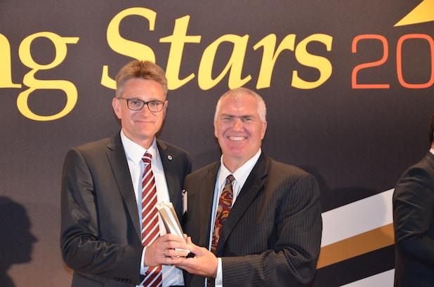 Photo of Joergen Ernst in Birmingham mit renommiertem Branchenpreis ausgezeichnet