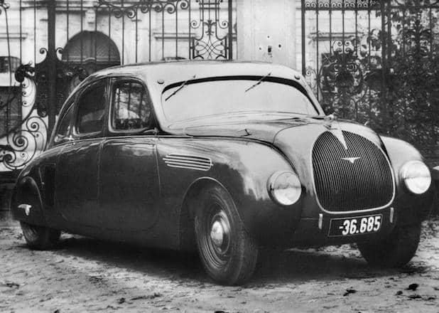 Photo of Stromliniendesign aus den 30er Jahren: SKODA 935 Dynamic auf der Schloss Bensberg Classics