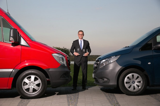 """Photo of Doppelsieg für Mercedes-Benz Vans beim """"KEP-Transporter des Jahres 2015"""""""
