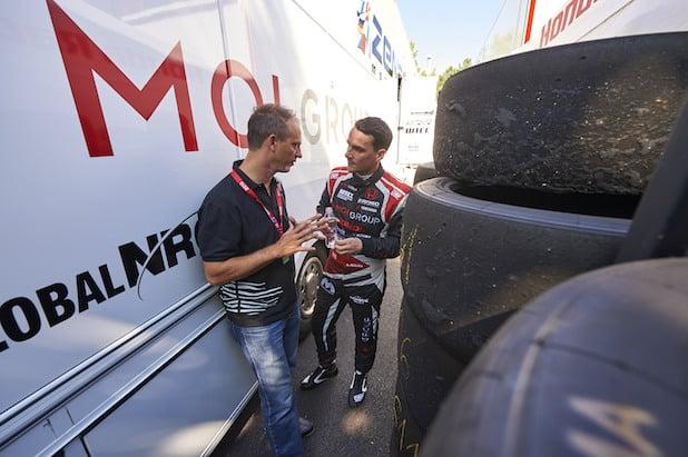 """Photo of Der österreichische Motorsport-Champion Günther """"Knobi"""" Knobloch unterstützt Norbert Michelisz"""