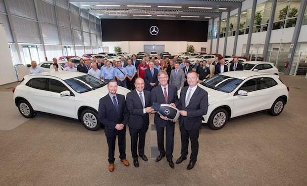 Photo of Mercedes-Benz Flotte für ADAC: ADAC übernimmt 76 Mercedes-Benz GLA für Fahrsicherheits-Trainings