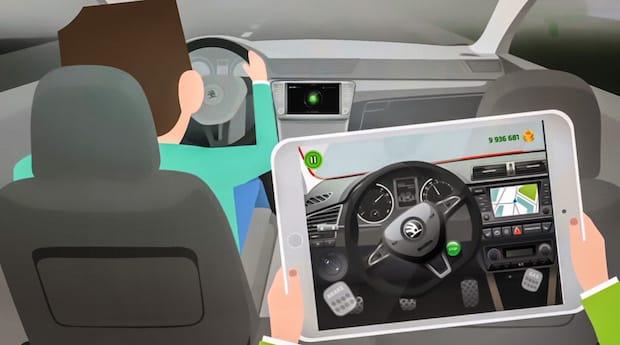 Photo of SKODA LittleDriver App: cooles Cruisen für Kids auf Tablet