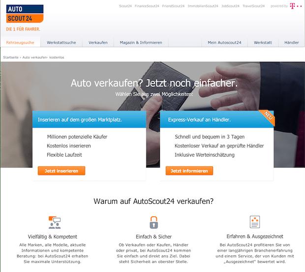 Photo of Neue Verkaufsoption bei AutoScout24