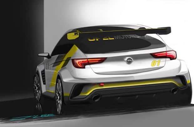 Photo of Für den Kundensport: Sneak-Preview des neuen Opel Astra TCR