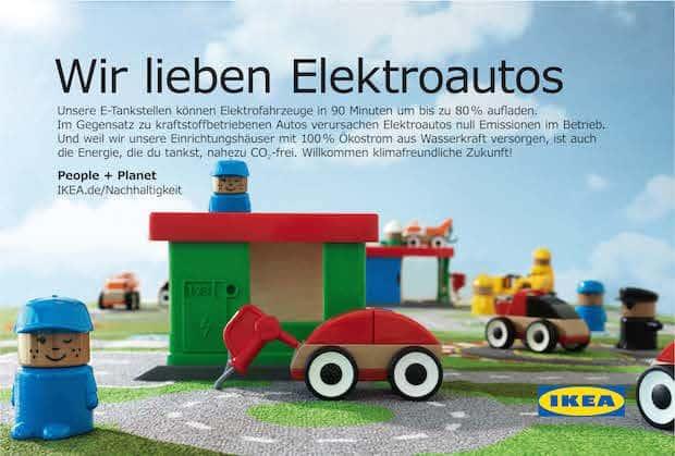 Photo of Beitrag zur E-Mobilität: IKEA setzt auf schnelle E-Tankstellen