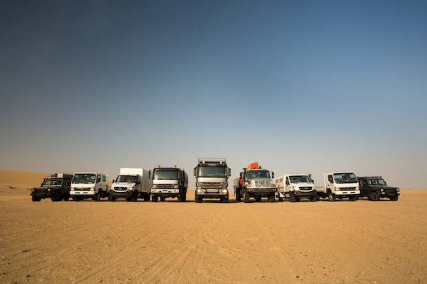Photo of Daimler eröffnet in Dubai erstes Regional Center für Nutzfahrzeuge