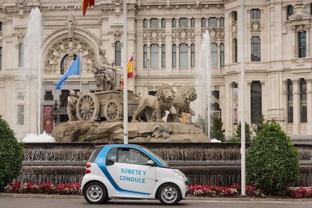Photo of car2go bietet erstmals stationsunabhängiges Carsharing in Spanien an