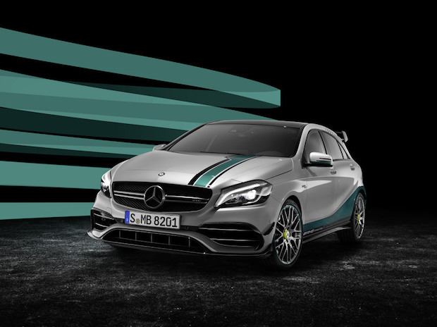 Mercedes-AMG A 45 4MATIC Champions Edition Foto: Mercedes Benz Cars/ Daimler AG
